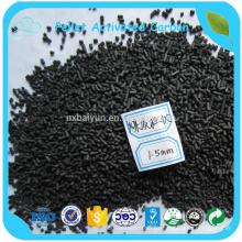 4,0 mm de carbón activado en forma de columna para filtro de agua de carbón activado