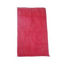 HDPE monofilament folding garlic mesh bag for vegetable onion potato