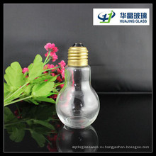 2015 году горячей продажи 100 мл лампы форму напиток стеклянная бутылка