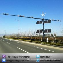 Sistema de energia Solar vento híbrido para CCTV