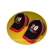Колпачки для вышивания или спортивная кепка с большим количеством труб