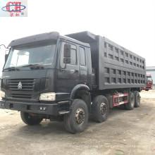 Produto popular HOWO caminhão basculante 8x4