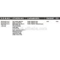 EMBRAGUE DEL VENTILADOR DE ENFRIAMIENTO AUTOMÁTICO PARA FORD TRANSIT 98VB 8A616-CA 95VB 8A616-AA 99VB 8A616-CA 7051414 1063042