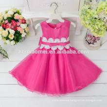 2017 kids birthday party children dresses handmade flower girl dresses children frocks designs
