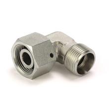 2C9 Winner hydraulic metric 24deg cone male /female elbow thrust wire nut metric hydraulic fitting