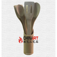 Rein natürliche Bambus Küche Kochen Utensilien Werkzeuge (CB01)