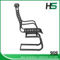 Low price black elastic bungee visitor chair