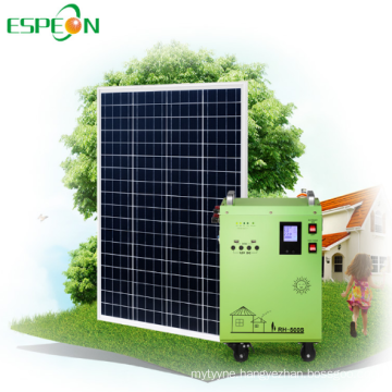 Off grid portable solar generator 300w panel kit Normal Specification lithium ion battery solar generator