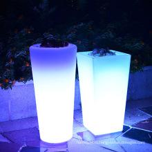 Напольный световой цветочный горшок /плантатор ваза цветок декоративные светодиодные фонари