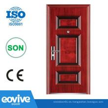 Diseño de estilo Egipto puerta de seguridad para casas, puerta de acero para casas