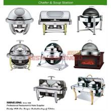 Heißer Verkauf Buffet Warmer \ Suppe Station \ Food Bar \ Servierwagen