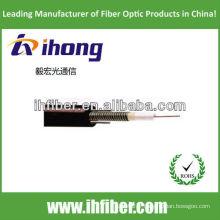 Câble de fibre optique extérieur à câbles central GYXTW avec qualité haut de gamme