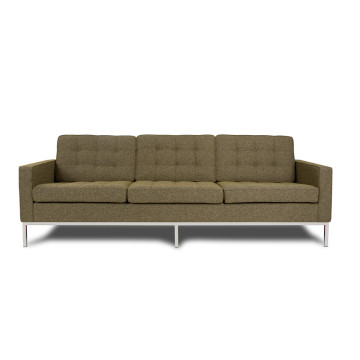 Stoff Florence Knoll Sofa Reproduktion