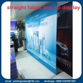 Single Side Printed Straight Fabric Pop Up Displays
