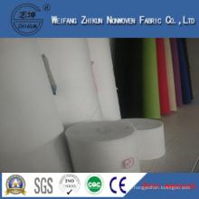 White Polypropylene Spun-Bond Nonwoven Fabric of Handbags (zhikun China hotsales)