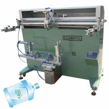 Máquina de impresión de pantalla de cilindro plano de botella de vidrio TM-700e