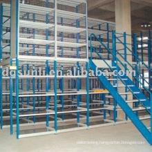 selective mezzanine rack system
