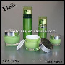 2*10/2*20ml dual chamber acrylic cream bottle