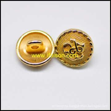Gold color Unifrom Shank Button