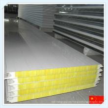 Panel de sándwich de chapa de acero incombustible de alta calidad