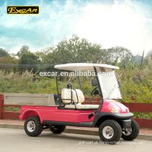 EXCAR 2 assento assento único elétrico carrinho de golfe preços clube golf buggy