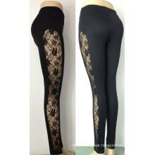 Hot Sexy Women Lace Leggings, Black Lace Leggings for Women (LC03)