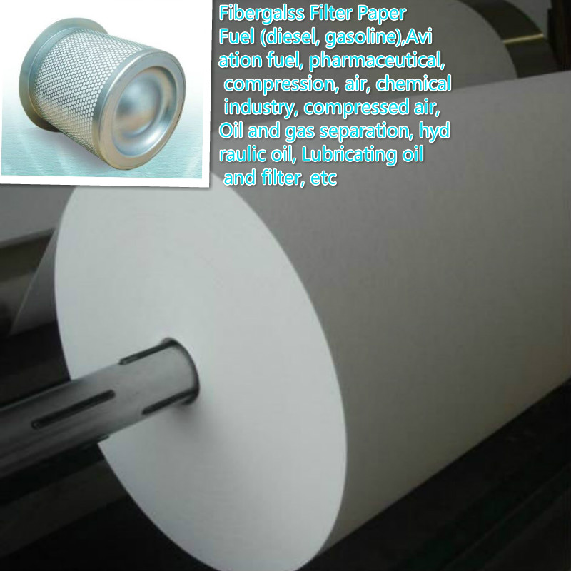 Composite Fiber Glass Filter Paper 5um
