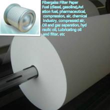 Papel de filtro para separação de óleo e gás