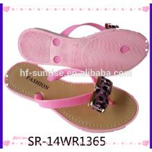 Nuevos zapatos airblowing de la playa del PVC de la mujer