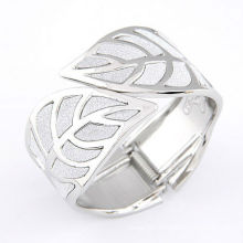 Factory wholesale 2013 59.2g 64x36mm alloy Bracelet gold silver 2colors leaves shape High quality jewelry fashion gift 11030277