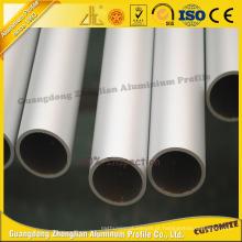 Tubo / tubulação de alumínio redondos anodizados de alta qualidade para a construção