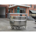 Stainless steel vertical heating stirring tank