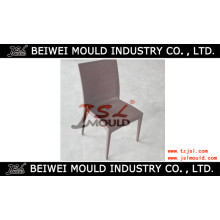 Plastic Injection Armless Rattan Chair Mould