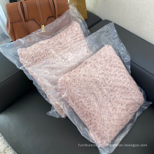 Almofadas para sofás 100% poliéster velo móveis ao ar livre