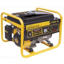 Générateur de moteur à essence de secours à la maison d'utilisation de la CE, générateur d'essence avec du CE (1.5kw, 1.7kw) Wh1900