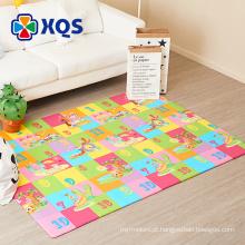 2018 hot saling ECO-friendly poliéster impresso tapetes para crianças, Morden Design ECO-friendly das Crianças Tapete