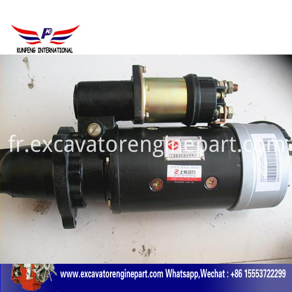 Shanghai Engine Parts Statrter Motor 4n3181