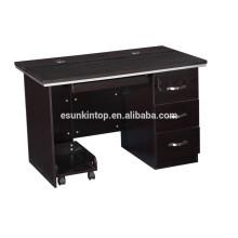 Melamine computer table design, modern design furniture computer table