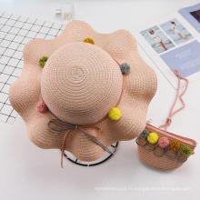 Sac à main de chapeau de bébé en plein air de style uni