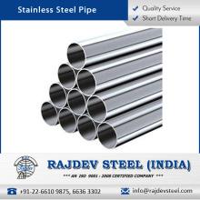 Tubo sin costura del acero inoxidable de la fuerza de la alta calidad del comprador al por mayor en el coste bajo
