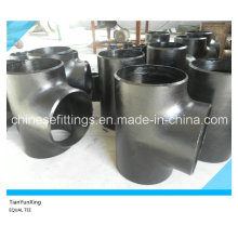 Seamless Tee Butt Welded Carbon Steel Pipe Fittings