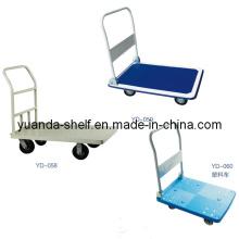 Warehouse Flachbett Cargo Hand Trolley Cart