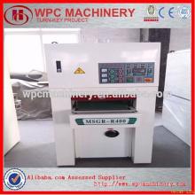 Máquina de escovar plástica de madeira / máquina de dormir WPC