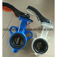 API609 Wafer End Type Centre Sealing Rubber Butterfly Valve