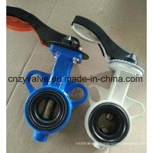 API609 Wafer End Type Válvula de borracha de borracha de vedação central