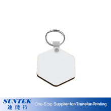 Cheap Price Sublimation Easy Printing MDF Sublimation Blank Keychain