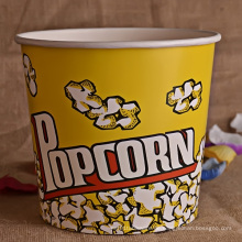 Kundenspezifisches Papier Popcorn Cup oder Eimer für Kino