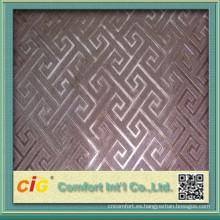 Moda nuevo diseño superior 2015 PVC de cuero alta calidad