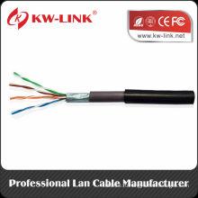 1000 футов Cat5 / Cat5e Номинальный открытый прямой кабель для скрытой проводки UTP UTP