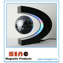 Pantalla magnética levitated globo terráqueo para regalo